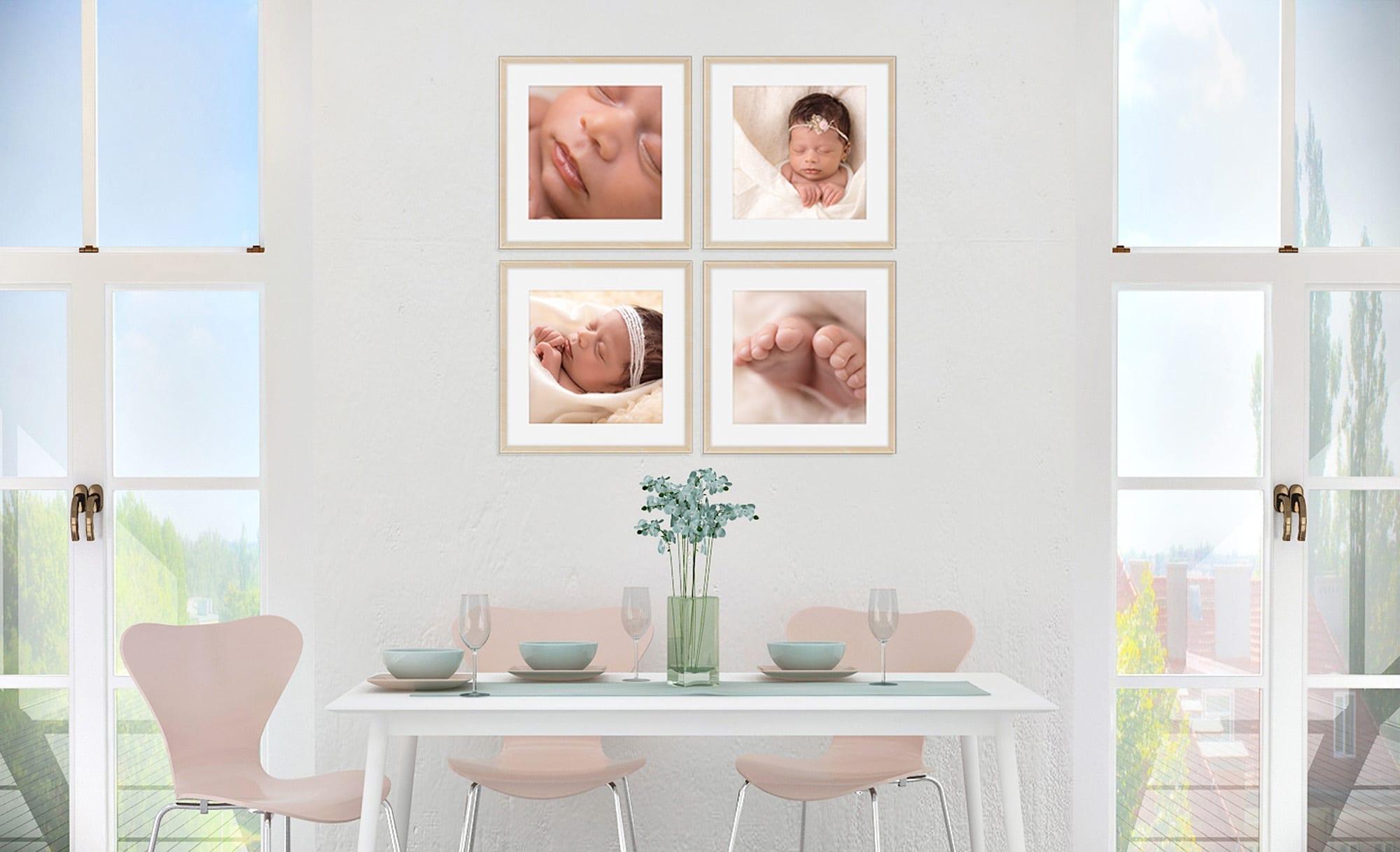 newborn fotoreportages in Brussel