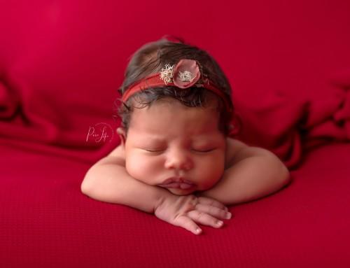 Newborn baby girl – Model Call