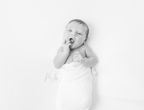 Behind the scenes – Newborn Photo session