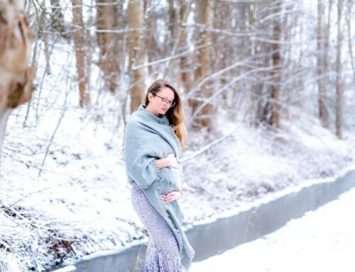 Een winter-wonderland fotoshoot met Melissa
